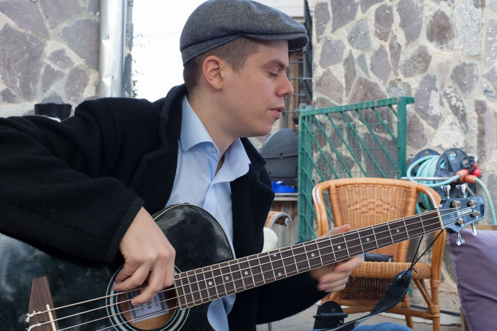 joe on the bass